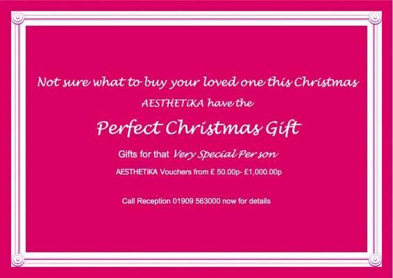 Xmas gift  2 vouchers