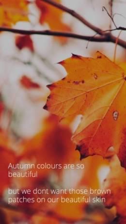 Autumn peels